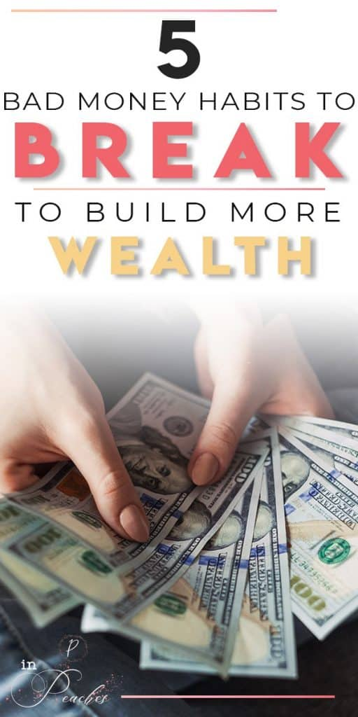 We often don't realize it but we could have daily habits that are only keeping us broke and leading us to financial ruin. Click through to learn what those habits are and how to break them to help you start building wealth and achieve financial freedom.