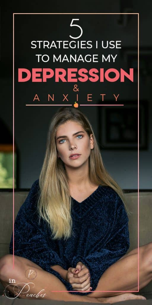 Coping with mental illnesses, such as anxiety and depression can be very overwhelming and debilitating, often leaving us feeling hopeless. If you are looking for ways to fight these illnesses, click through to learn the coping strategies I use to reduce my anxiety and to overcome and fight depression.