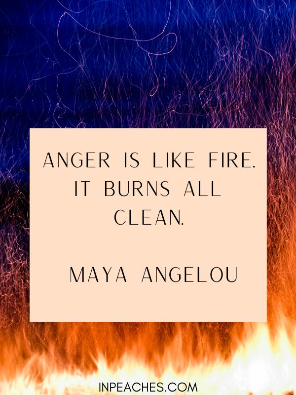 Fire quotes and sayings