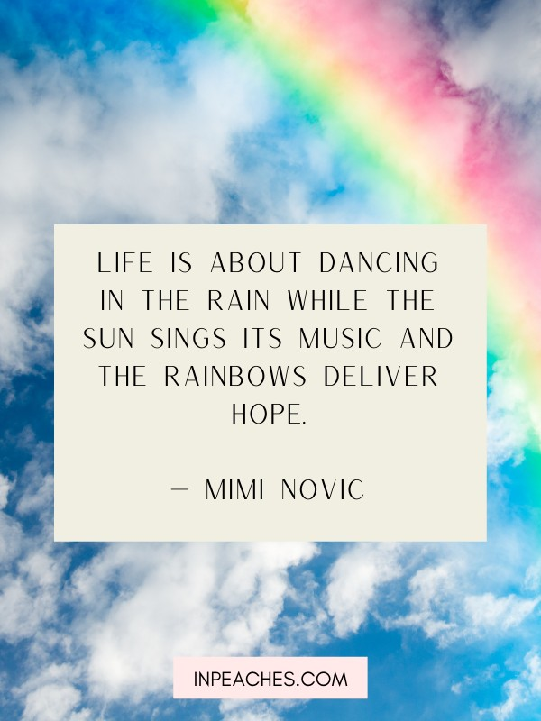 Inspiring Rainbow quotes