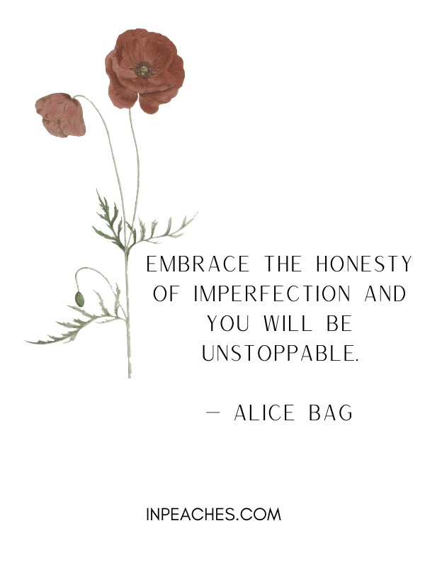 Inspiring imperfection quites 1