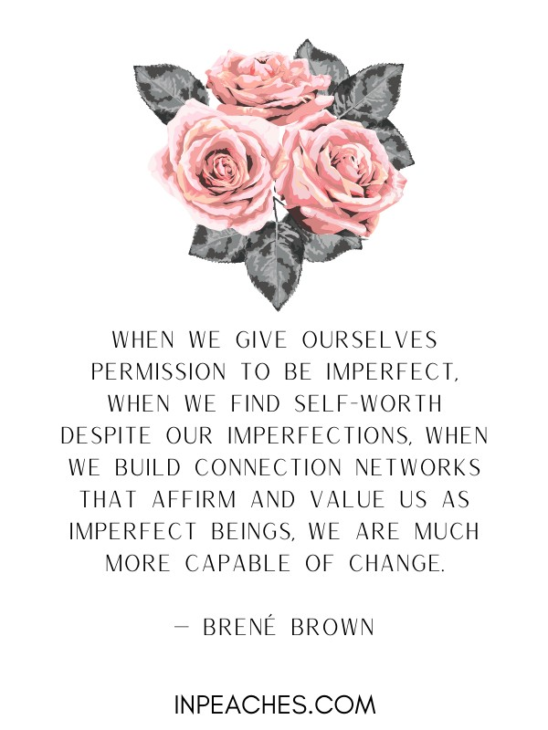 Love imperfections quotes