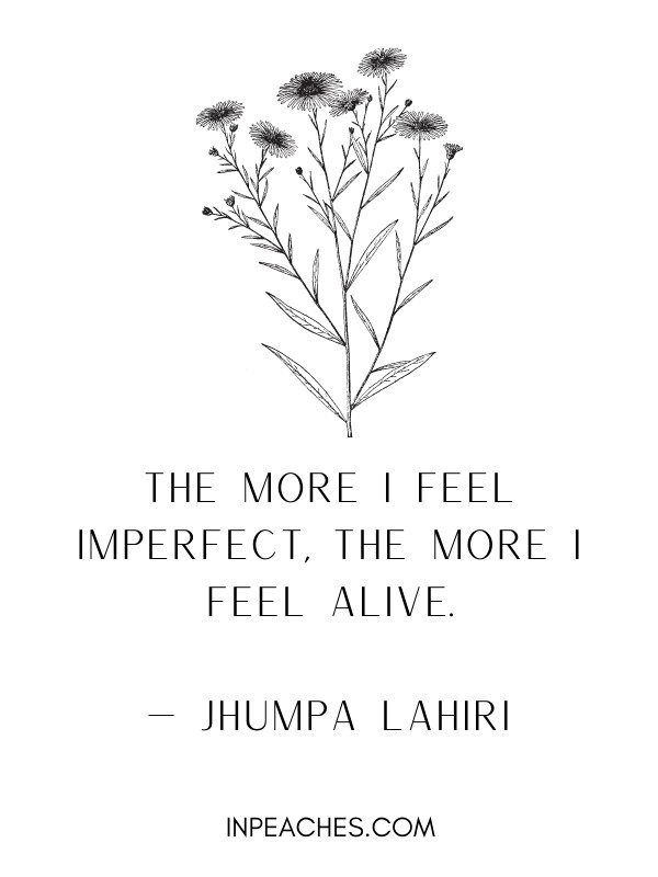 Quotes on flaws and imperfections